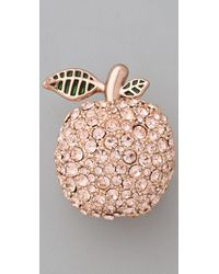 Marc By Marc Jacobs - Pink 10th Anniversary Apple Ring - Lyst
