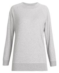 MHL by Margaret Howell | Gray Grey High Neck Sweatshirt | Lyst
