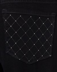 Not Your Daughter's Jeans   Black Sheri Rhinestone-pocket Jeans   Lyst