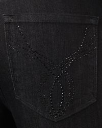 Not Your Daughter's Jeans - Black Sheri Rhinestone-pocket Jeans - Lyst