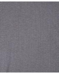T By Alexander Wang - Gray Grey Shawl Hooded Cardigan - Lyst