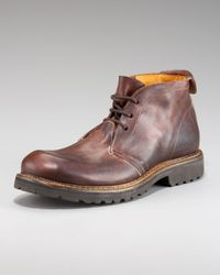 True Religion | Brown Sal Chukka Boot for Men | Lyst