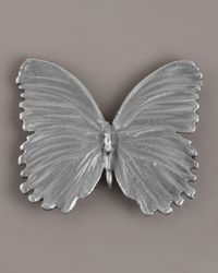 Aurelie Bidermann | Metallic Silver Butterfly Pin | Lyst