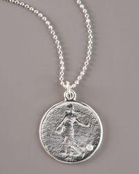 Dominique Cohen - Metallic Goddess Diamond Necklace - Lyst