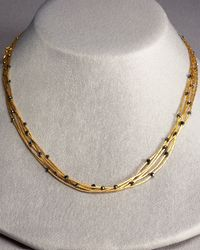 Gurhan | Metallic Black Diamond Necklace | Lyst