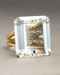 H Stern - Metallic Crystal Highlight Ring - Lyst