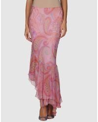 Iceberg | Pink Iceberg - 3/4 Length Skirts | Lyst