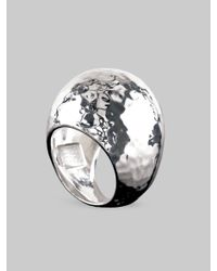 Ippolita | Metallic Sterling Silver Dome Ring | Lyst