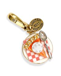 Juicy Couture | Metallic Pumpkin Pie Charm (limited Edition) | Lyst
