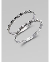 Konstantino | Metallic Freshwater Pearl & Sterling Silver Bracelet | Lyst