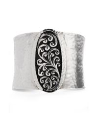 Lois Hill | Metallic Repousse Hammered Cuff | Lyst