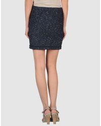 Love Moschino | Blue Love Moschino - Mini Skirts | Lyst