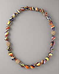 MILLY - Multicolor Waves Necklace - Lyst