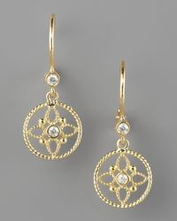 Penny Preville | Metallic Lotus Blossom Earrings | Lyst