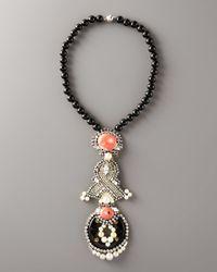 Ranjana Khan - Pink Flamingo Pendant Necklace - Lyst