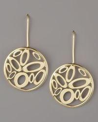 Roberto Coin | Metallic Chic & Shine Circle Earrings | Lyst