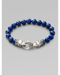 Stephen Webster | Blue Beaded Bracelet for Men | Lyst