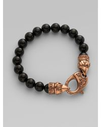 Stephen Webster | Black Ravens-head Bracelet for Men | Lyst