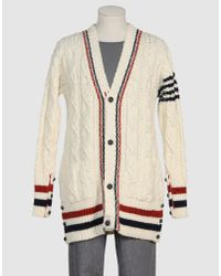 Thom Browne | Blue Oversized Cardigan for Men | Lyst
