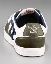True Religion - Ace Low Sneaker in Navy/white/military for Men - Lyst