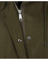 A.P.C. - Green Khaki Simple Parka - Lyst