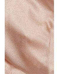 Rituel By Carine Gilson | Pink Silk-satin Briefs | Lyst