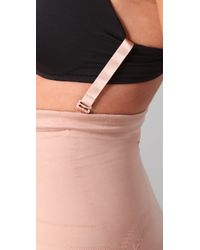 Spanx - Pink Slimmer & Shine Butt Boosting Mid Thigh Shaper - Lyst