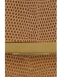 The Row - Brown Lizard Classic Flap Bag - Lyst