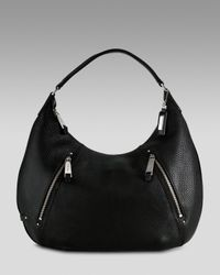 Cole Haan | Village Zip Hobo, Black | Lyst