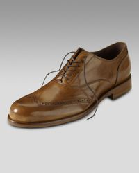 Cole Haan | Brown Air Pitney Wingtip Oxford for Men | Lyst
