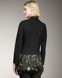 Elizabeth and James | Black Jacques Holiday Blazer | Lyst