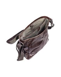 Fossil - Brown Jackson Ew - Leather Laptop Messenger Bag for Men - Lyst