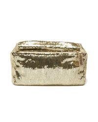 Givenchy - Metallic Sequin Pandora Clutch - Lyst