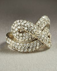 H Stern | Metallic Celtic Dunes Diamond Ring | Lyst