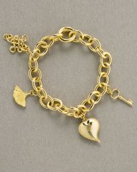 H Stern - Metallic Dvf Charm Bracelet - Lyst