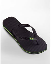Havaianas | Black 'brazil' Flip Flop for Men | Lyst