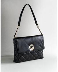 kate spade new york | Black Charlize Quilted Handbag | Lyst