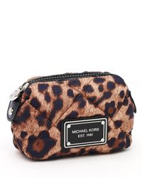 MICHAEL Michael Kors | Multicolor Small Quilted Cosmetic Case | Lyst