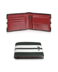 Mini - Black Racing Wallet W/ Coin Pocket - Lyst
