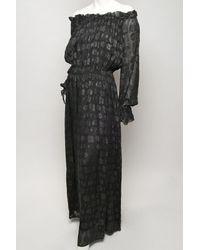 Rachel Zoe | Black Diane Blouson Maxi Gown | Lyst