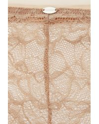 Calvin Klein | Natural Naked Glamour Lace Hipster Briefs | Lyst