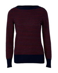 DEMYLEE | Red Amelie Thin Stripe Sweater | Lyst