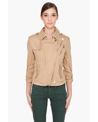 G-Star RAW | Natural Raw Correct Line Cl Battle Jacket | Lyst