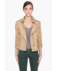 G-Star RAW - Natural Raw Correct Line Cl Battle Jacket - Lyst