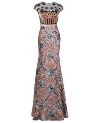 Mary Katrantzou | Multicolor Caramolengo Gown | Lyst