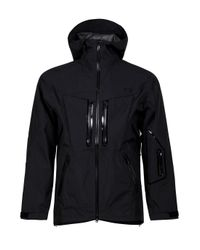 Y-3 | Black Gore-tex Lightweight Jacket for Men | Lyst
