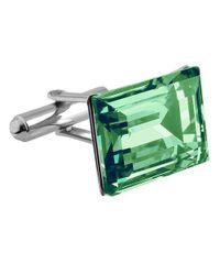 FORZIERI - Emerald Green Crystal Cufflinks for Men - Lyst