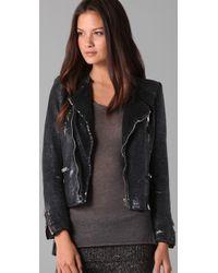 IRO - Black Cuzia Sequin Jacket - Lyst