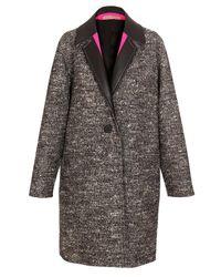 Balenciaga - Black Oversized Virgin Wool-blend Coat - Lyst