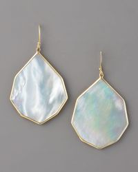 Ippolita | White Angled Teardrop Earring, Mother-of-pearl | Lyst